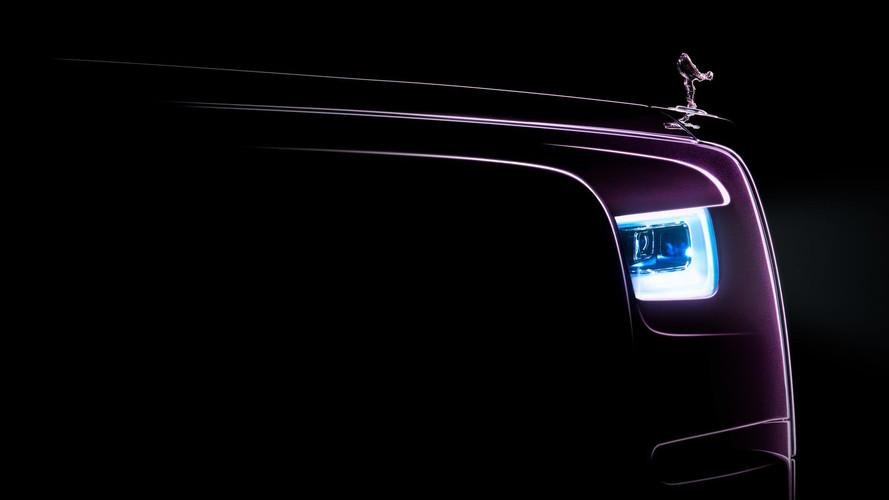 New Rolls-Royce Phantom: First Official Teaser Released