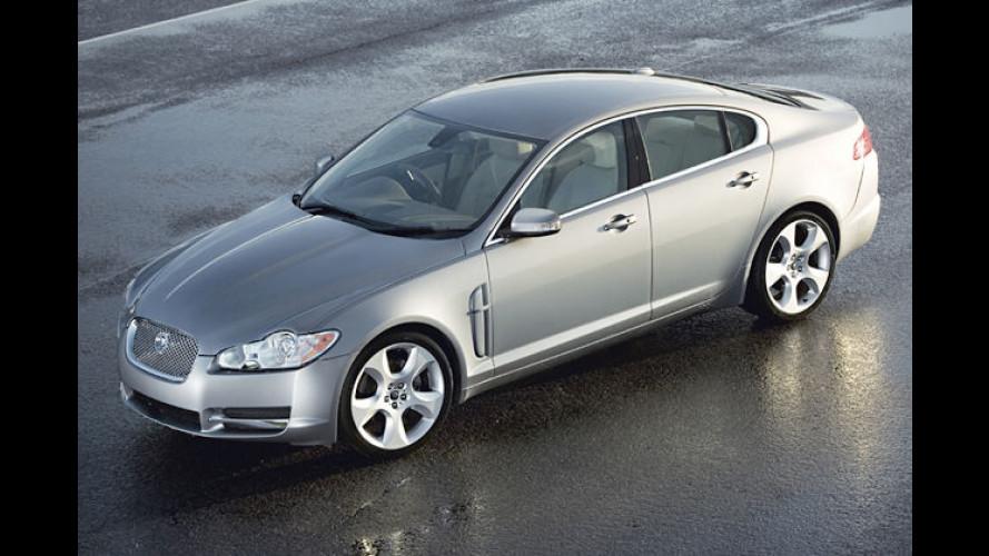 Jaguar gibt Preise und Ausstattungen des XF bekannt