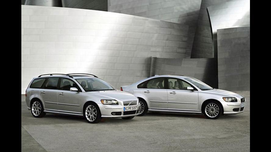 Volvo S40 D5 und V50 D5: Mächtig viel Diesel-Power ab 2006