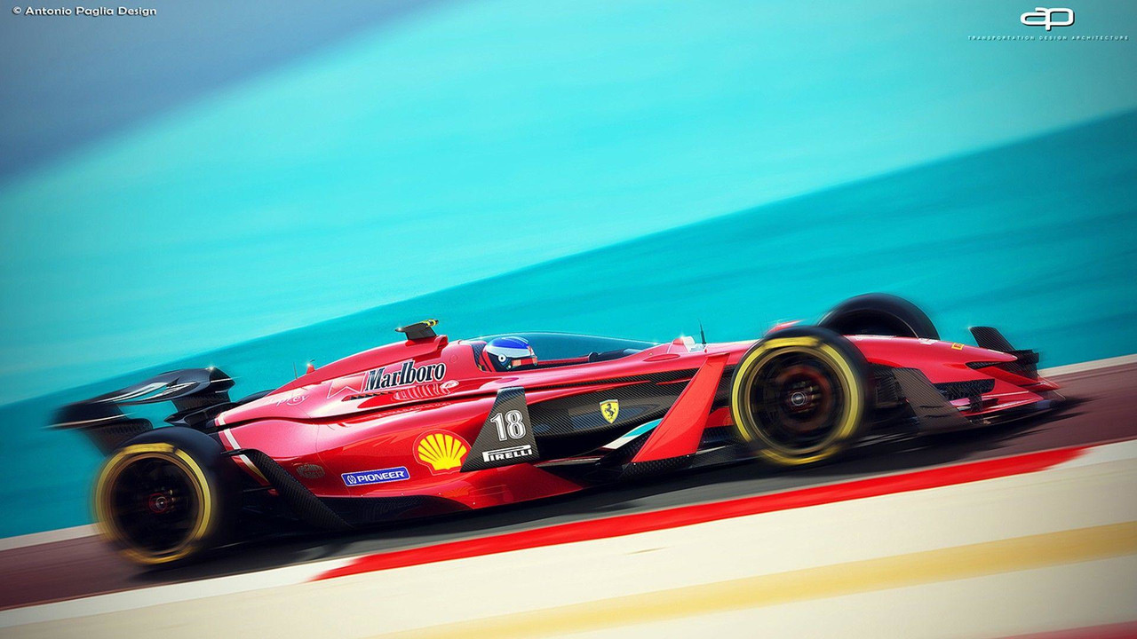 Cheap New Cars Under 10000 >> We Can Only Hope F1 Cars Will Look This Good In 2025
