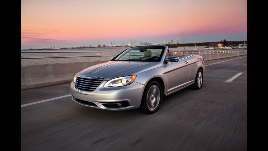 Chrysler 200 Cabriolet: prime foto
