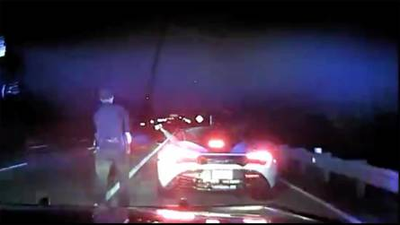 Watch A McLaren 720S Doing 155 MPH Chased By Georgia Police