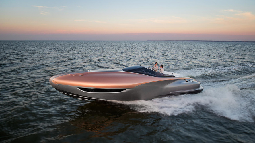 Lexus' one-off yacht offers 885 hp of maritime luxury
