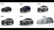 Previsto para 2019, inédito BMW X7 de sete lugares aparece em teaser