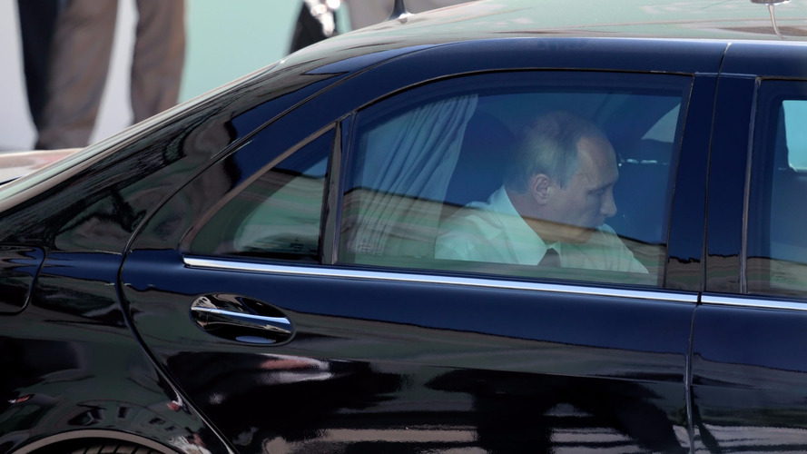 Vladimir Putin's stretch Mercedes could be yours for $1.3 million