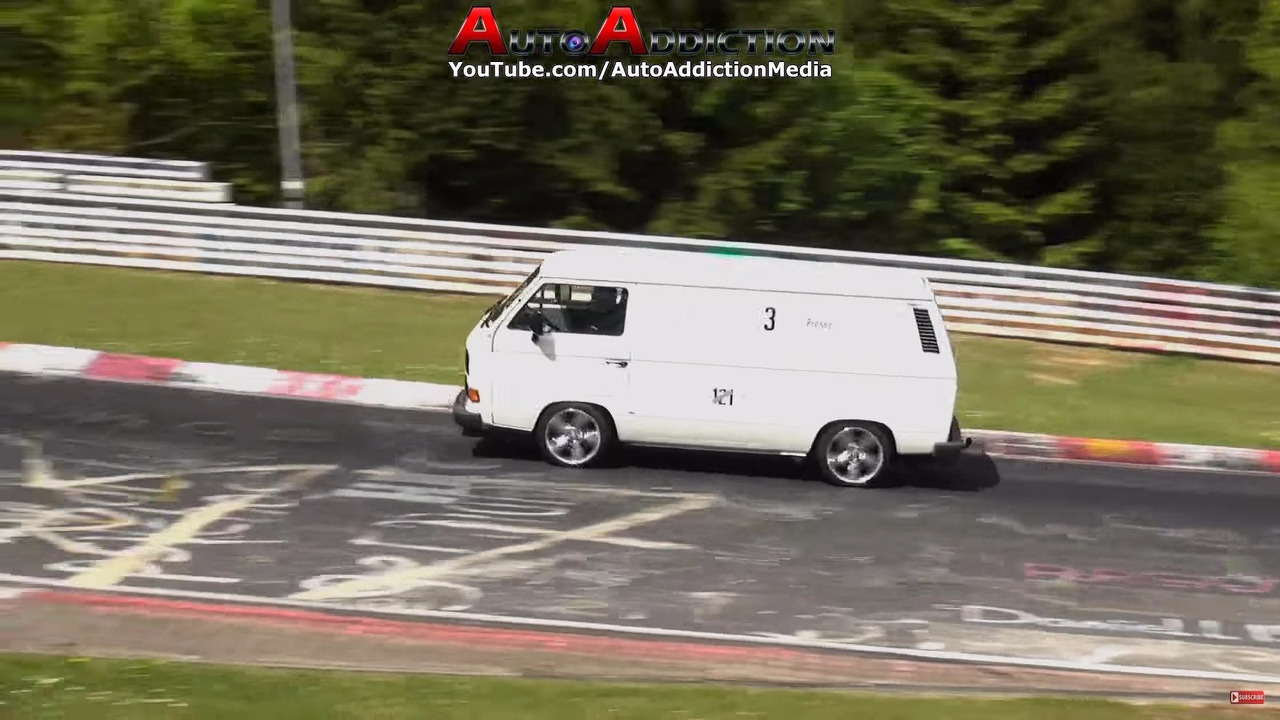 Strange vehicles on the 'Ring in 2016