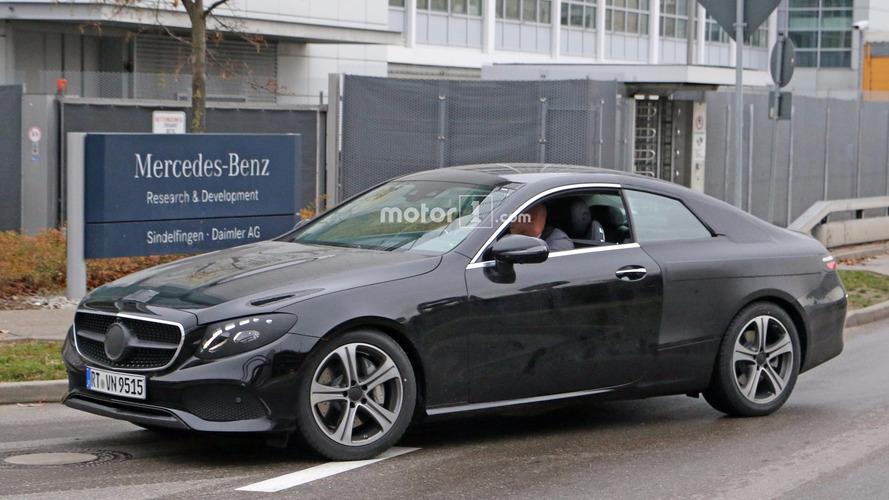 2018 Mercedes E Sınıfı Coupe son testlerini yaparken yakalandı
