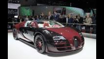 Genebra: Bugatti Veyron dá adeus ao mundo com série Vitesse La Finale