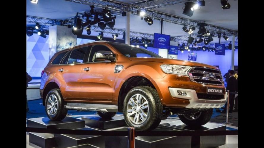 Dúvida para o Brasil, Ford Everest estreia no Salão de Nova Delhi