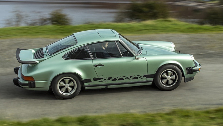 Restored 1975 Porsche 911 Carrera MFI looks to drive again