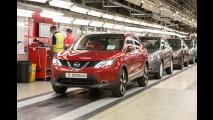 Nissan Qashqai pode deixar de ser produzido no Reino Unido por conta do Brexit