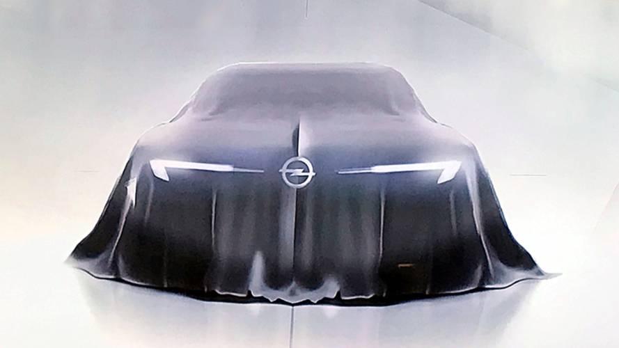 Opel GT: teaser del futuro concept car alemán