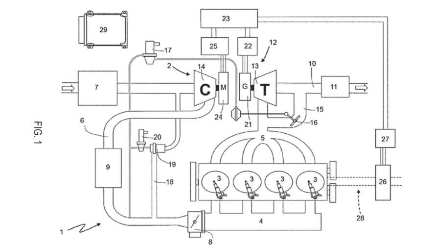 Ferrari Files Patent For Amazing-Sounding E-Turbo 4-Cylinder Engine