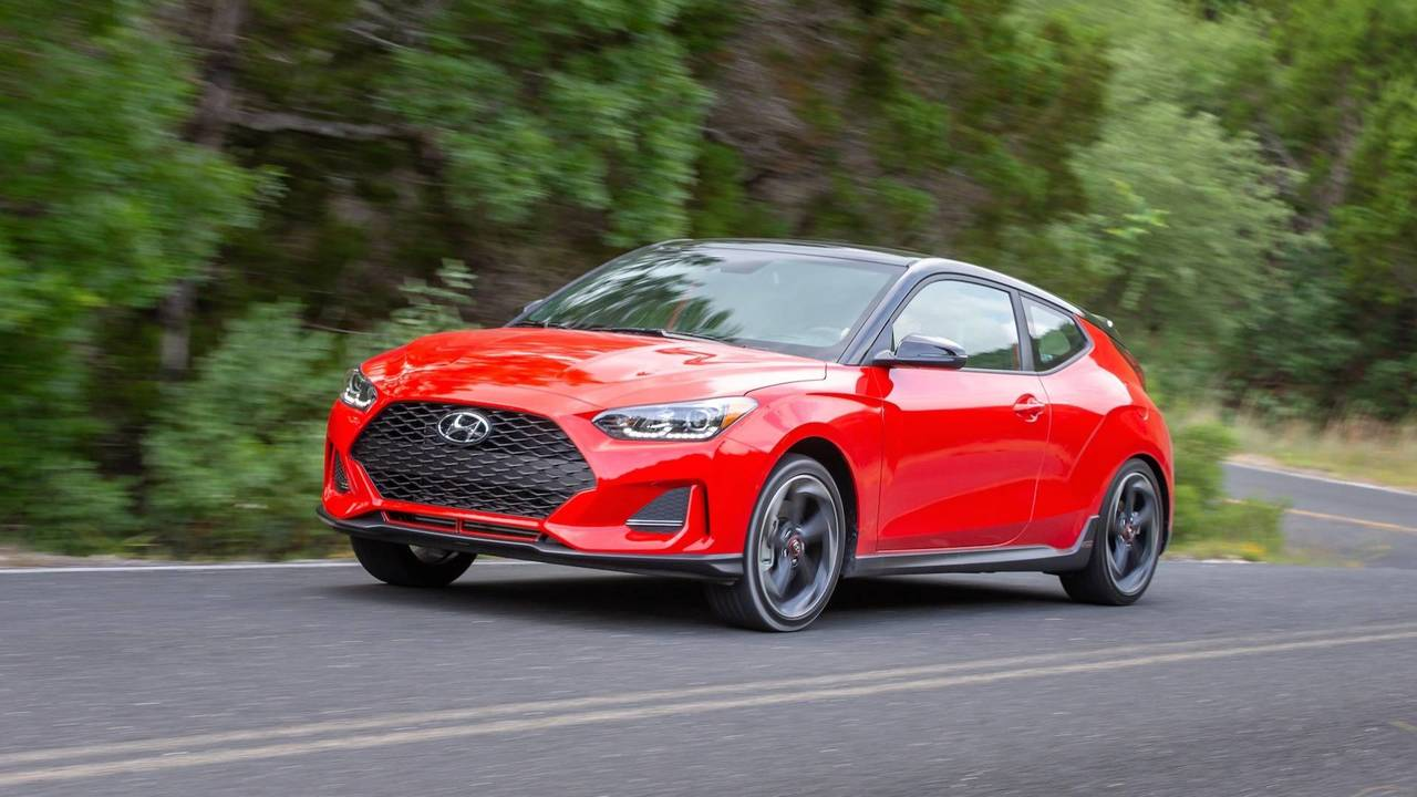 2019 Hyundai Veloster First Drive Still Funky Even More Fun