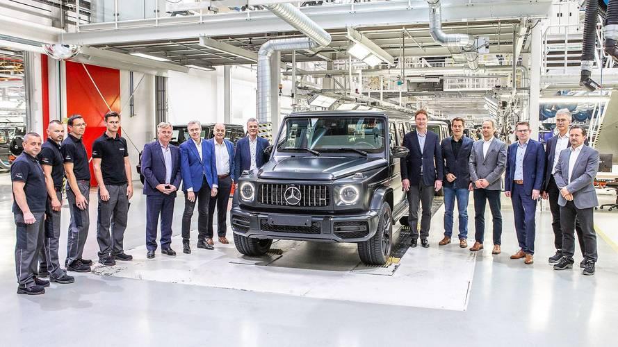 2019 Mercedes G-Serisi'nin üretimine Avusturya'da başlandı