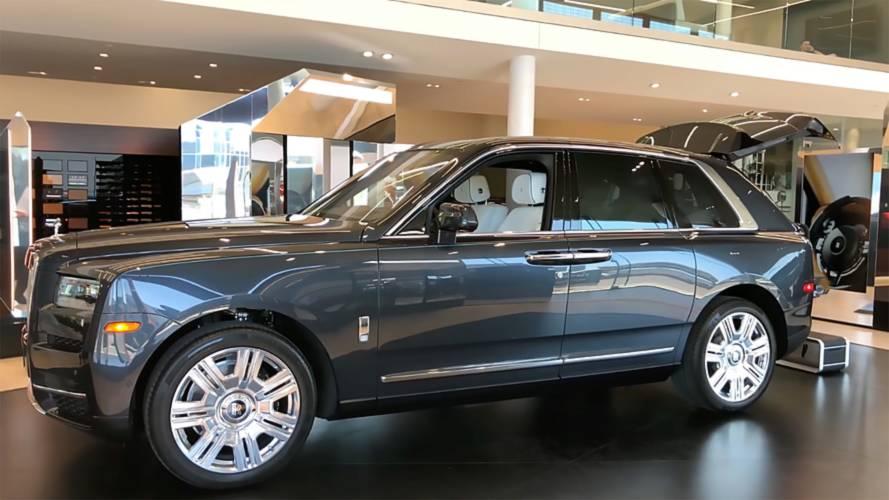 Rolls-Royce Cullinan flaunts opulence in walkaround video
