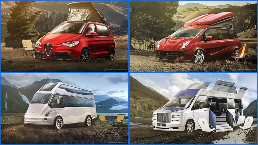 Lüks markalar karavan üretseydi nasıl görünürdü?