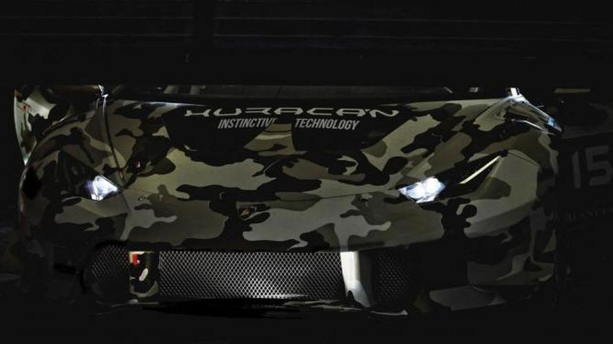 Lamborghini Huracan Super Trofeo teased
