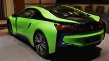 BMW i8 Lime Green