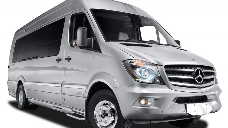 Mercedes & Airstream introduce the Autobahn luxury van