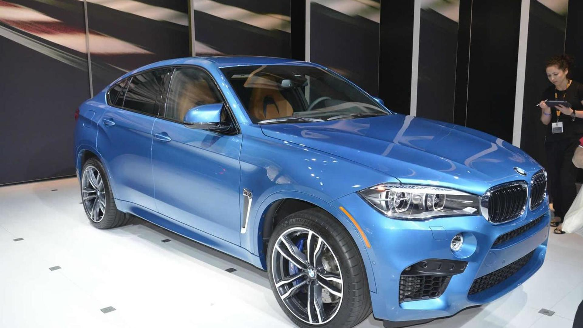 BMW X M And X M Power Into Los Angeles Auto Show - 2015 bmw models