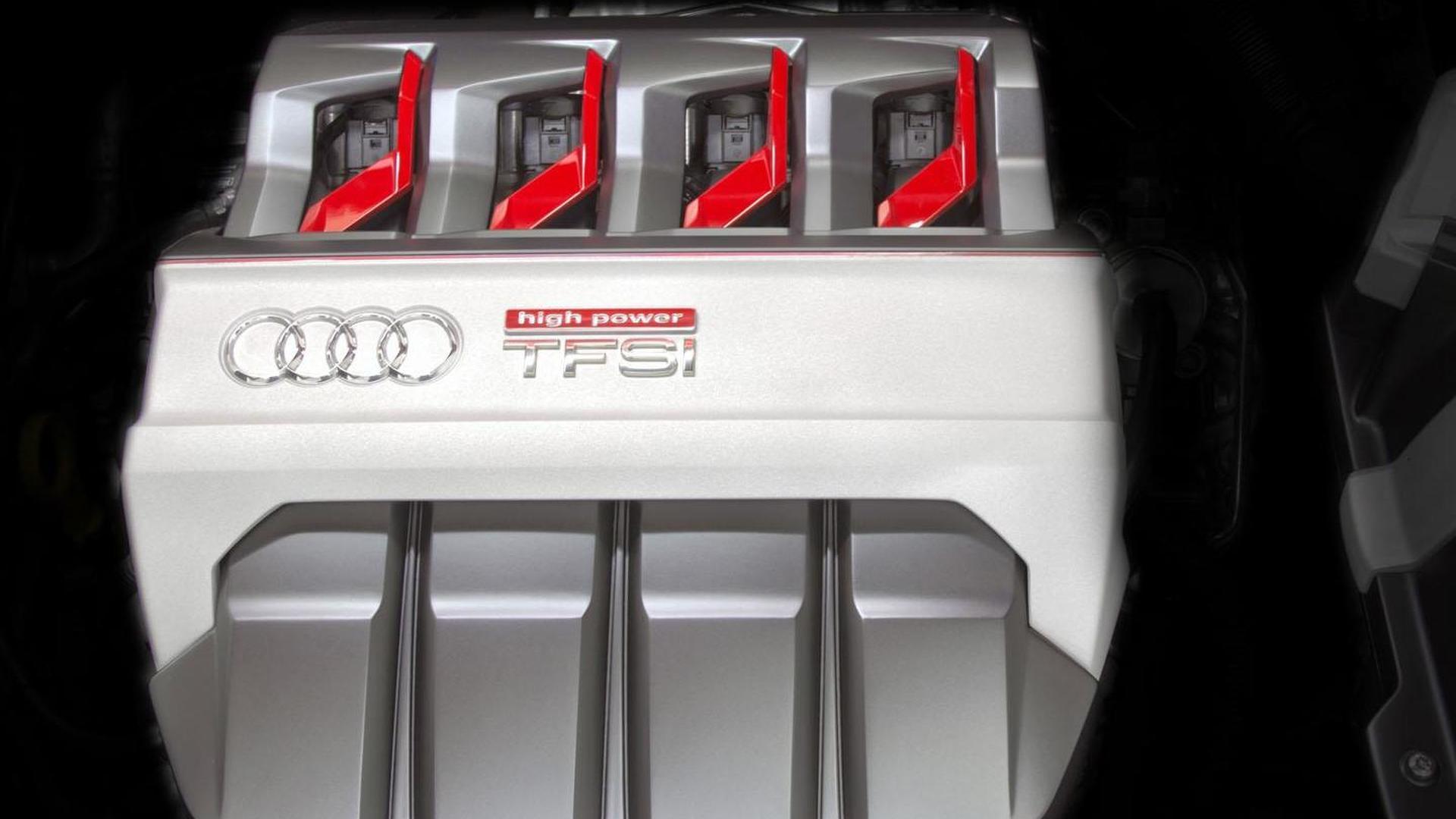 Двигатель 2.0 TFSI под капотом Audi TT Sportback 2014
