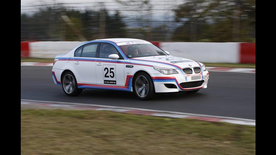 BMW M5 CSL: esemplare unico da 580 CV