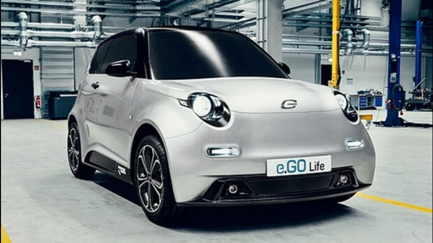e.Go, l'elettrica tedesca da 15.900 euro