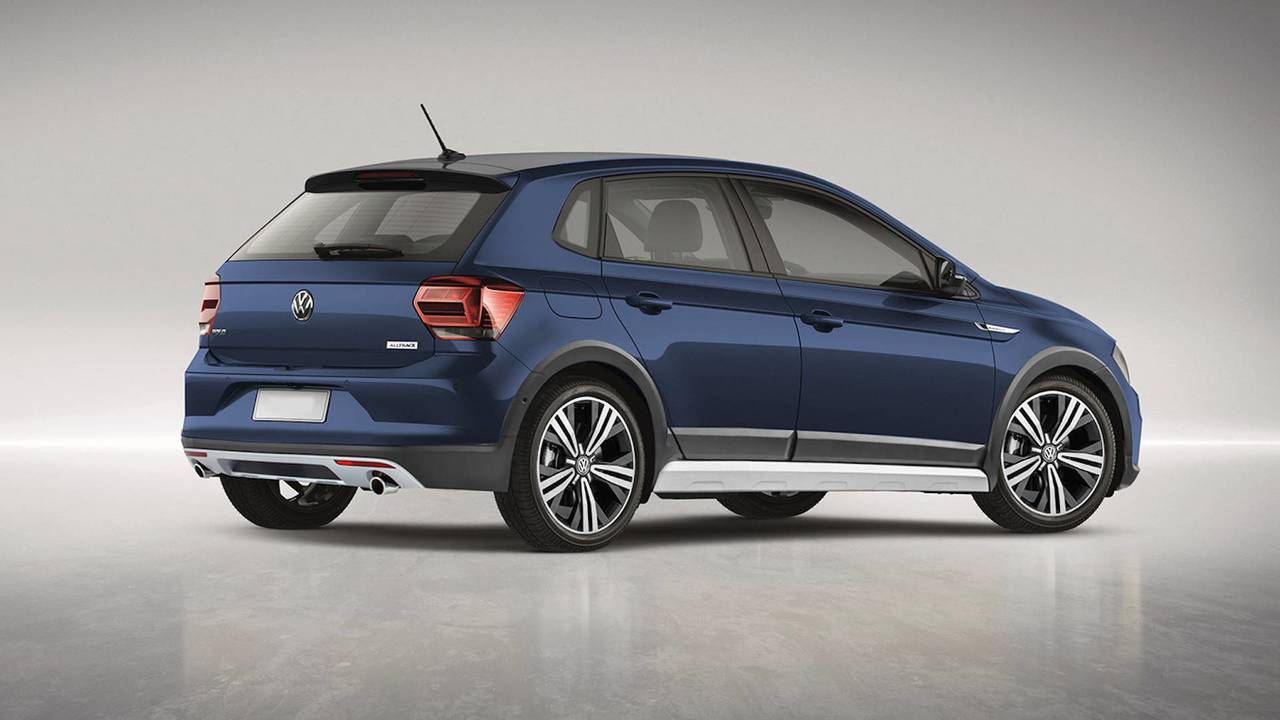 VW Polo Alltrack Rendering