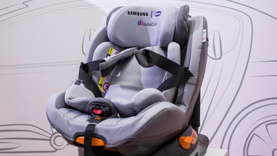 Samsung e Chicco, mai più bimbi dimenticati in auto
