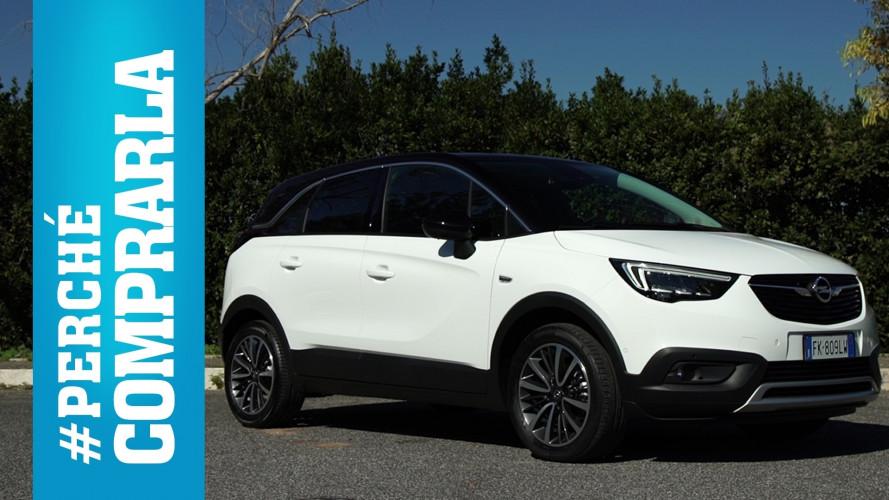 Opel Crossland X, perché comprarla... e perché no