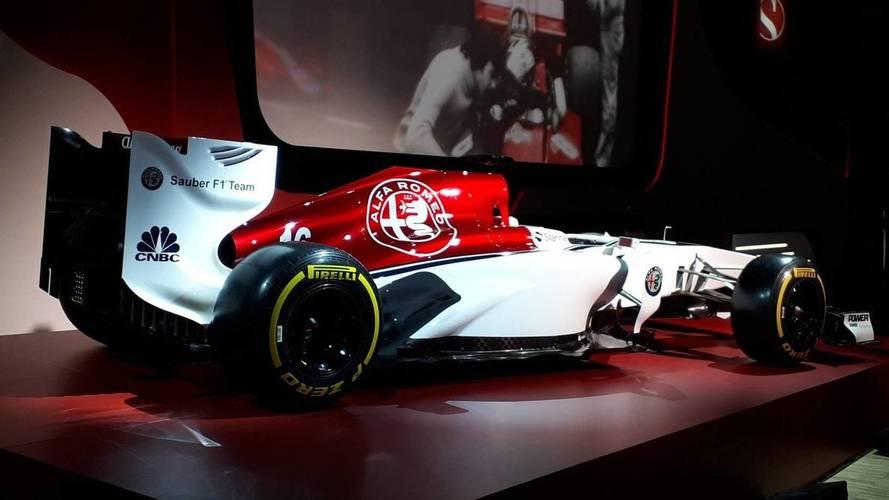 Sauber Reveals Alfa Romeo 2018 Livery Concept
