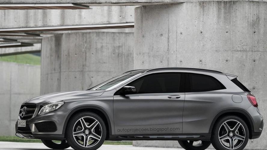 Mercedes-Benz GLA Coupe tasarım yorumu
