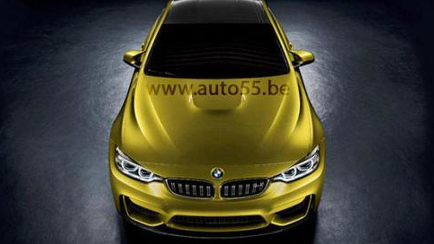 BMW M4 coupe concept leaked?