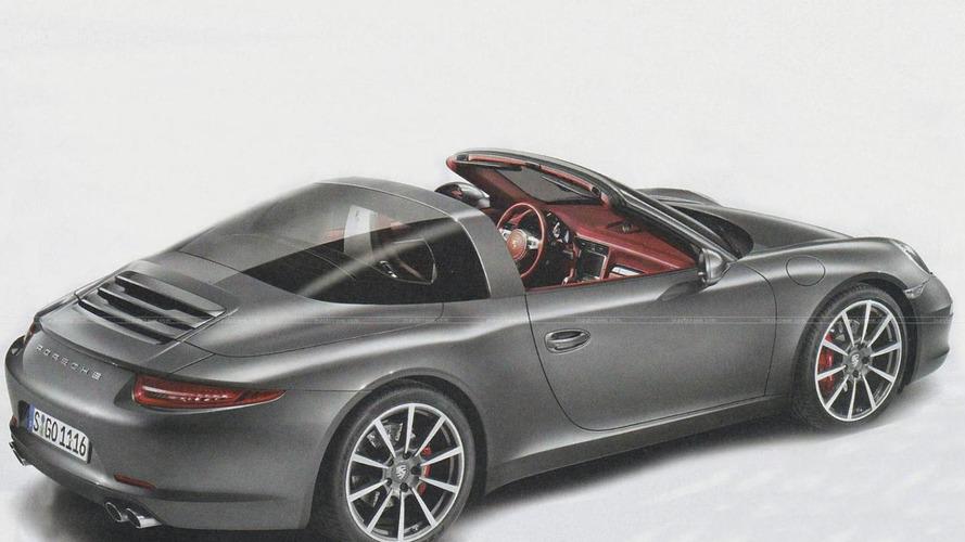 Porsche 911 Targa leaked? [UPDATED]