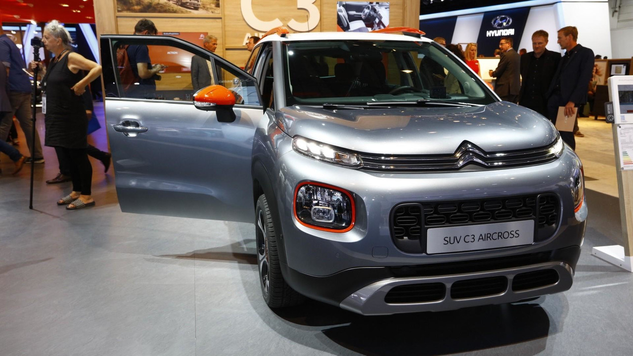 Citroen C3 Aircross Shows Up In Frankfurt With Quirky