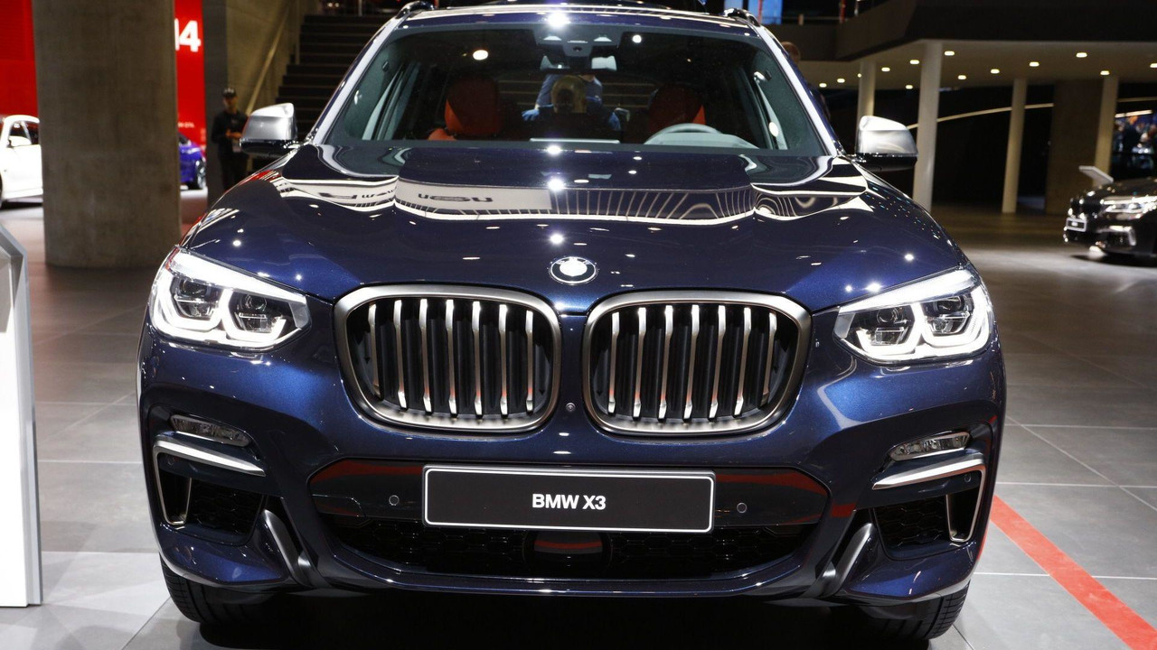 Everything You Want To See In The 2018 Bmw X3 Shown In 10