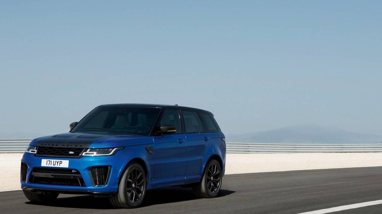 2018 range rover sport svr photos. Black Bedroom Furniture Sets. Home Design Ideas