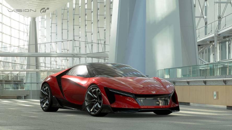 Honda Sports Vision Gran Turismo néven érkezett meg a japánok tanulmánya
