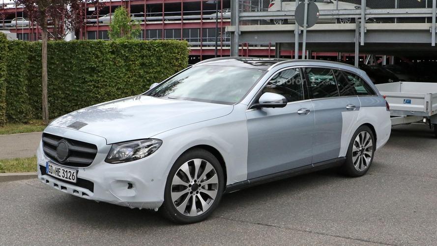 La Mercedes Classe E All Terrain surprise en phase de développement