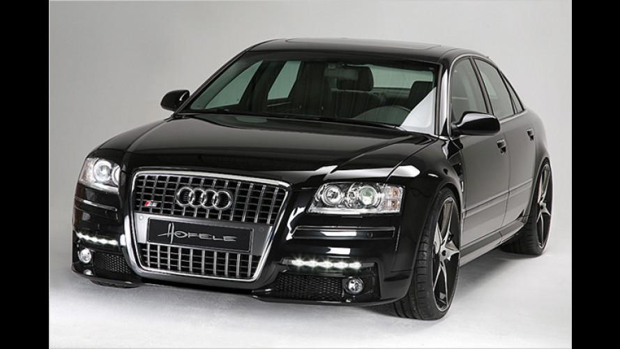 Ein starkes Gesicht: Audi A8 mit Hofele-Design-Facelift