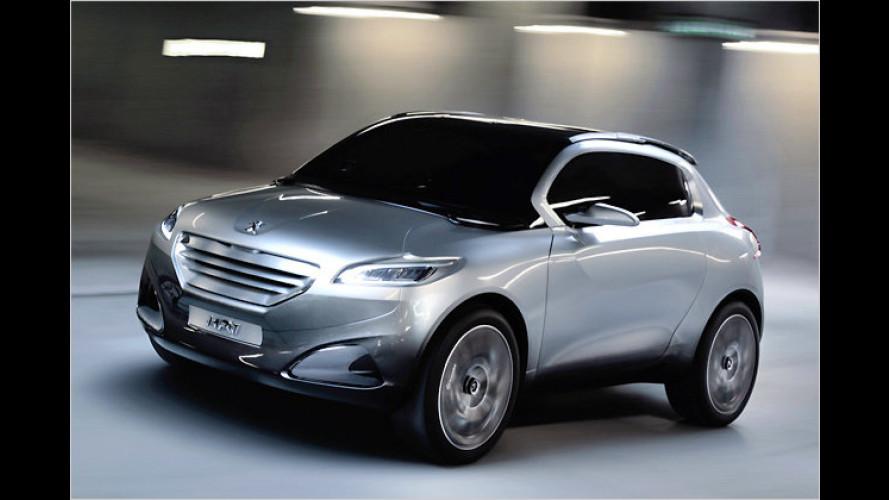 Peugeot HR1: Kompaktes SUV soll frischen Wind bringen