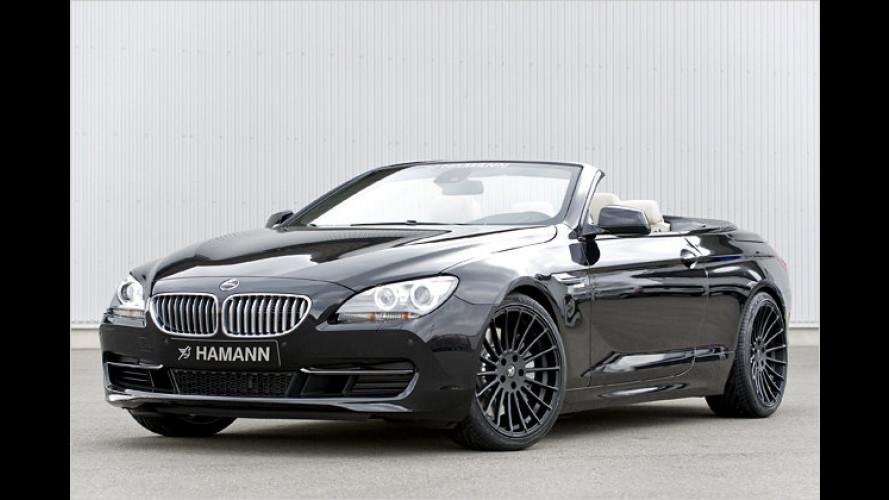 Sportlicher Freiluft-Auftritt: BMW 6er Cabrio von Hamann