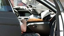 2010 Mercedes E-Class navigation screen spy photos