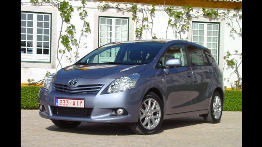 Toyota Verso: Kompaktvan auf Mittelklasse-Plattform