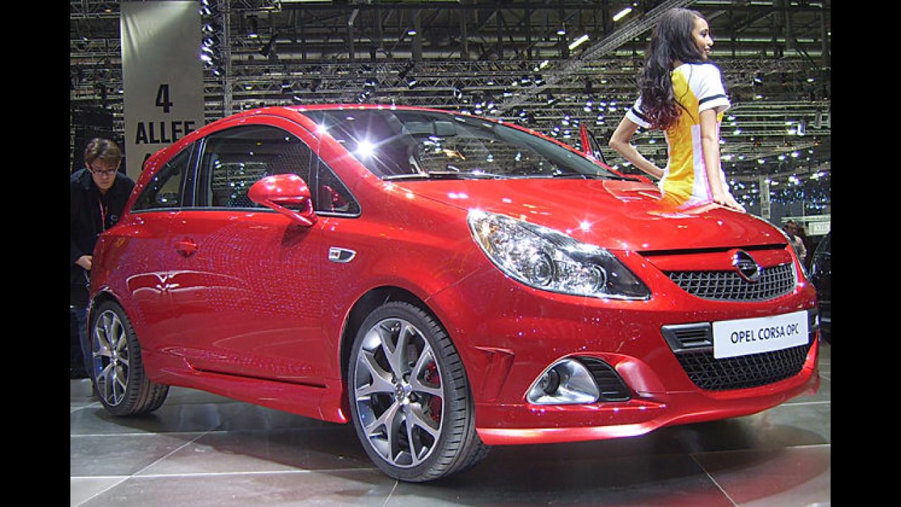 Mit dem 192 PS starken OPC feierte der stärkste Opel Corsa aller Zeiten seine Weltpremiere