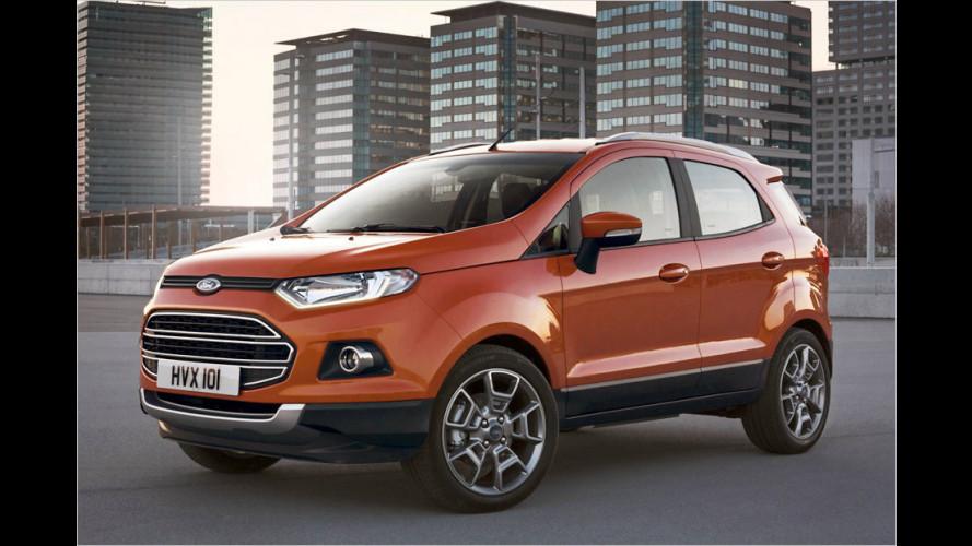 Kleines Ford-SUV kommt nach Europa