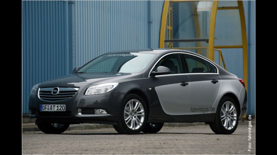 LPG-Systeme für alle Opel-Insignia-Benziner