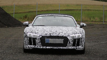 Audi R8 Spyder spied for the first time (19 photos)