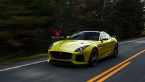 2016 Jaguar F-Type SVR render